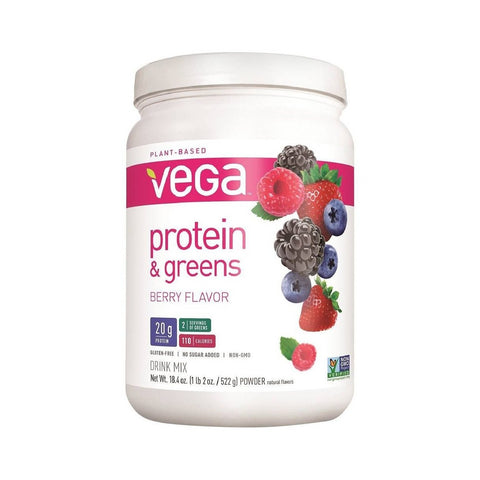 Vega Protein & Greens Berry Flavor Protein Powder-Food - Protein-Food-Unicorn Goods