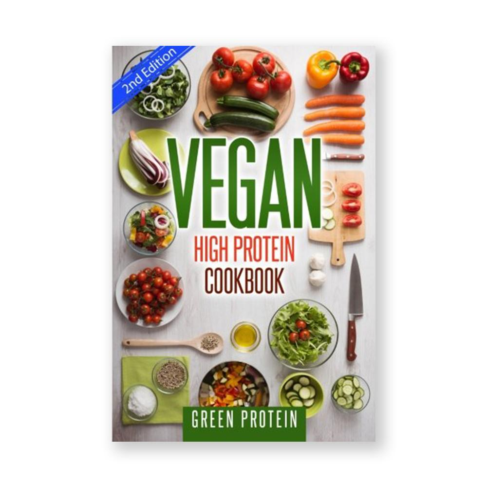 Vegan High Protein Cookbook-Cookbook-Amazon-Unicorn Goods