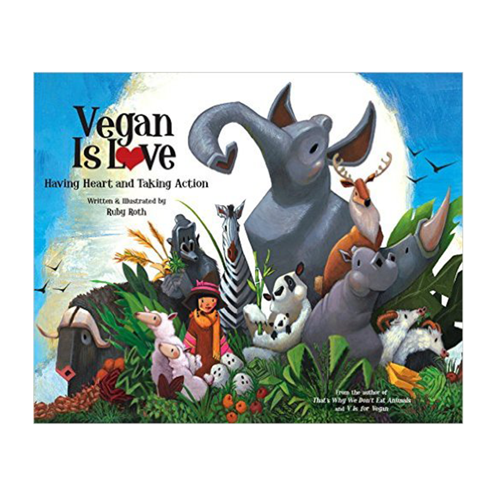 Vegan Is Love-Kids - Book-Amazon-Unicorn Goods