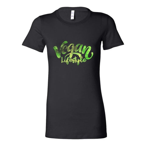 Vegan Love Vegan Lifestyle T-shirt (4 colors)-Womens T-shirt-Vegan Love-Unicorn Goods