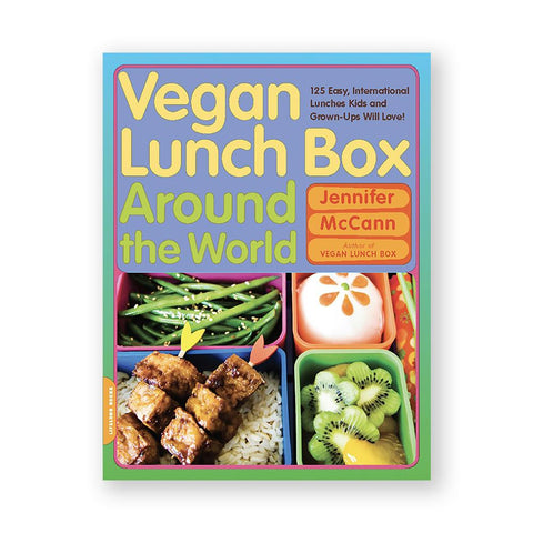 Vegan Lunch Box Around the World-Kids - Book-Amazon-Unicorn Goods
