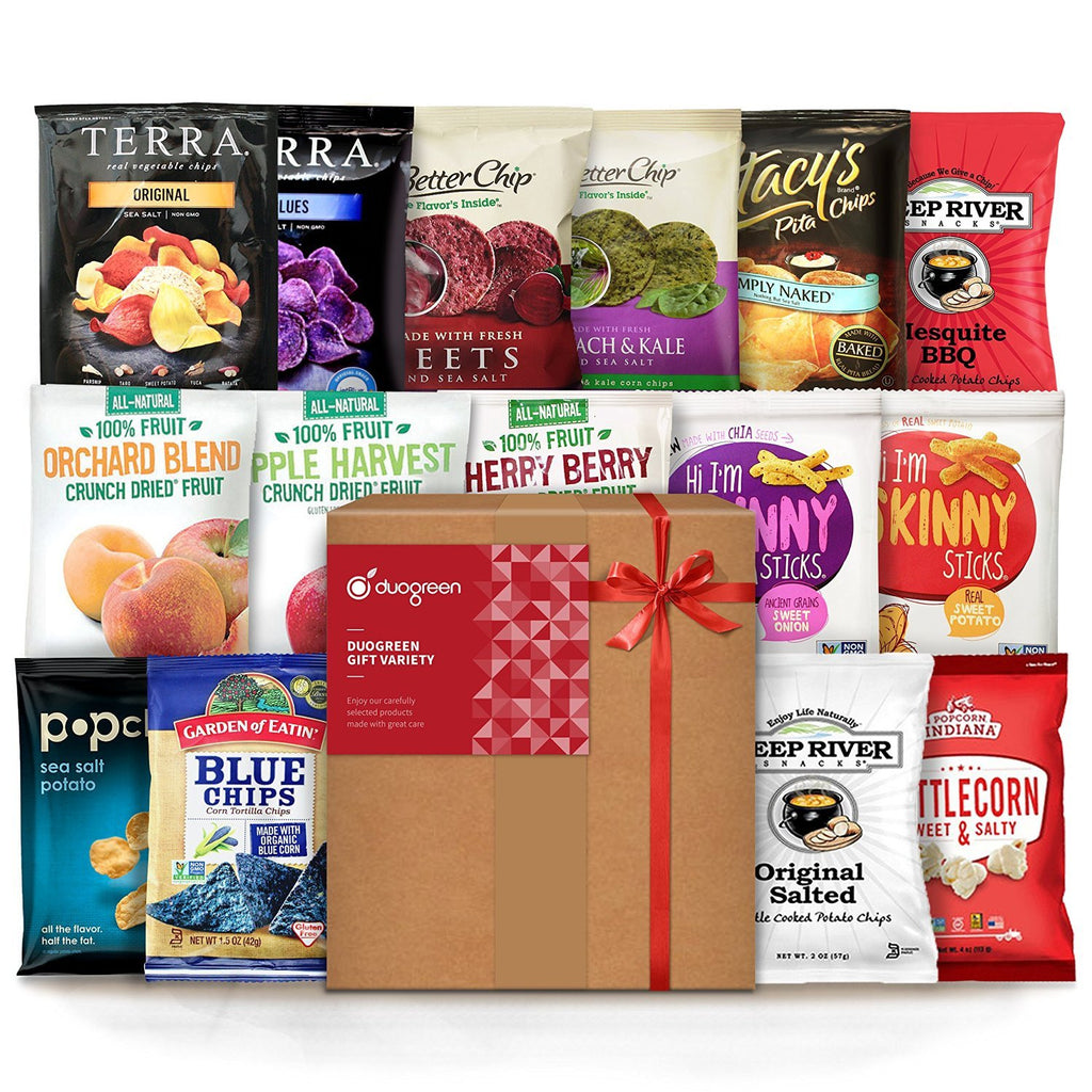 Vegan Snacks Premium Care Gift Box-Food - Snack-Amazon-Unicorn Goods