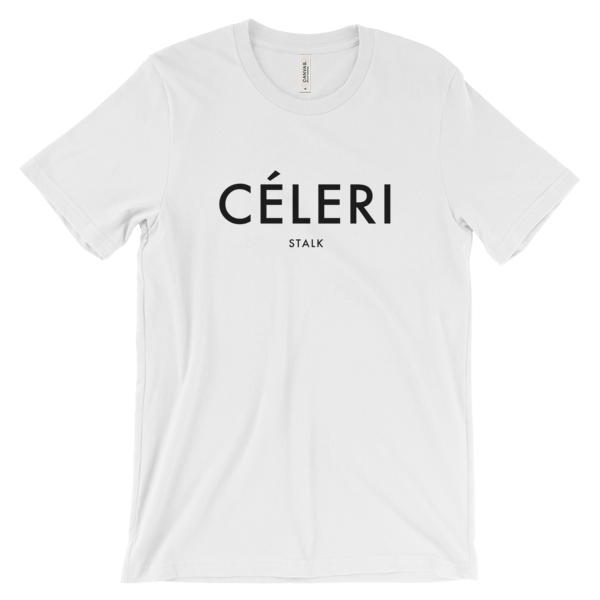 Veganized World Céleri Stalk Shirt-Unisex T-shirt-Veganized World-Unicorn Goods