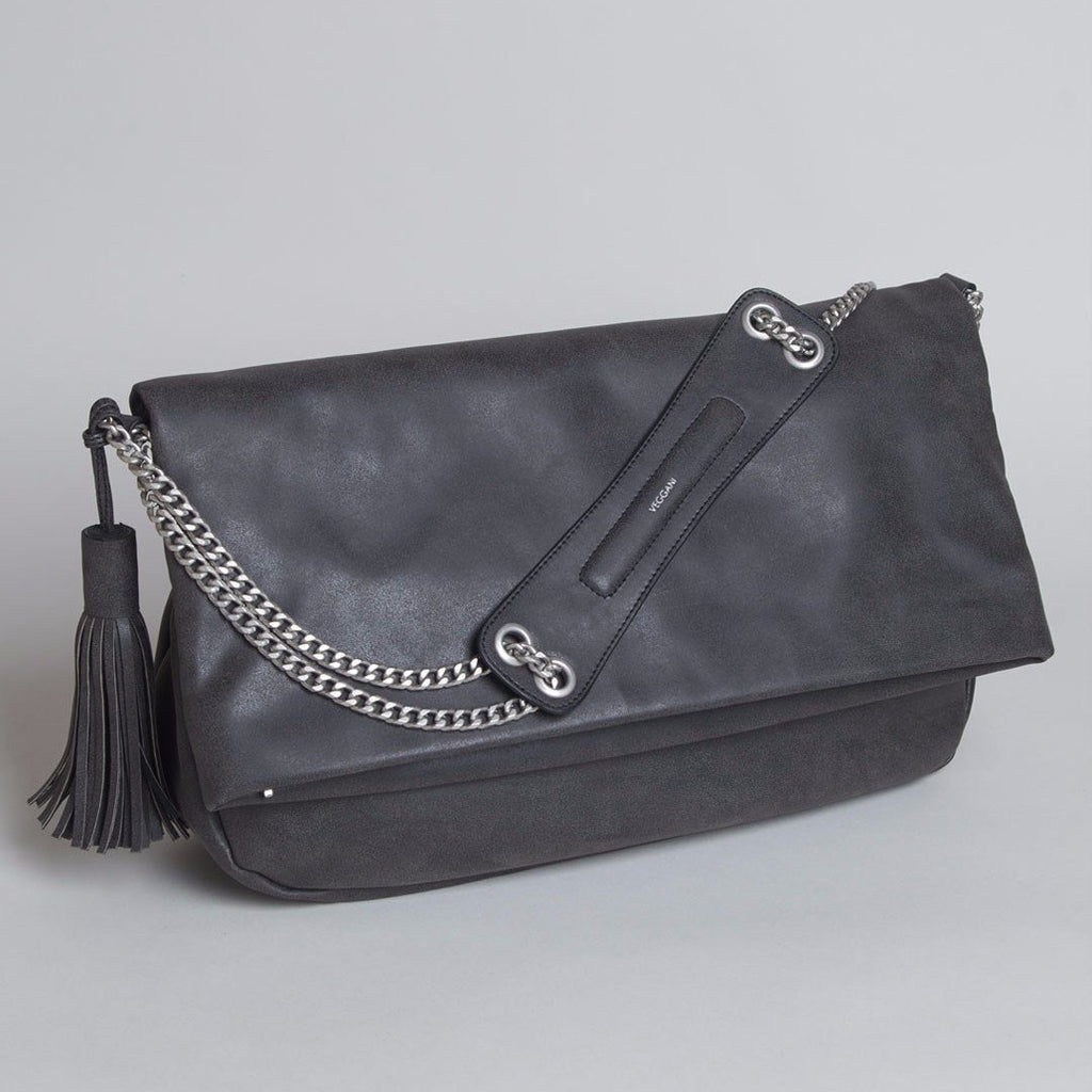 VEGGANI Maya Purse in Black-Womens Purse-VEGGANI-Unicorn Goods