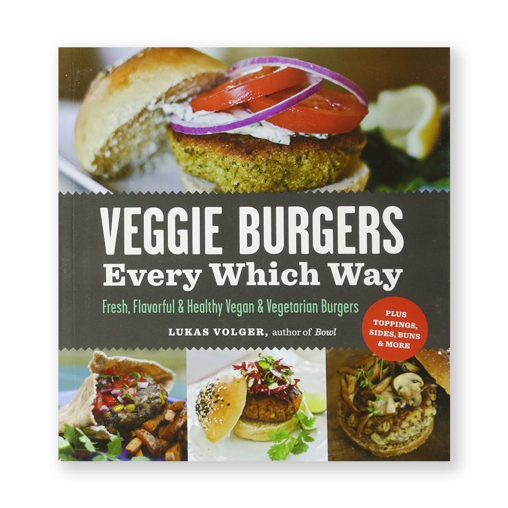 Veggie Burgers Every Which Way-Cookbook-Amazon-Unicorn Goods