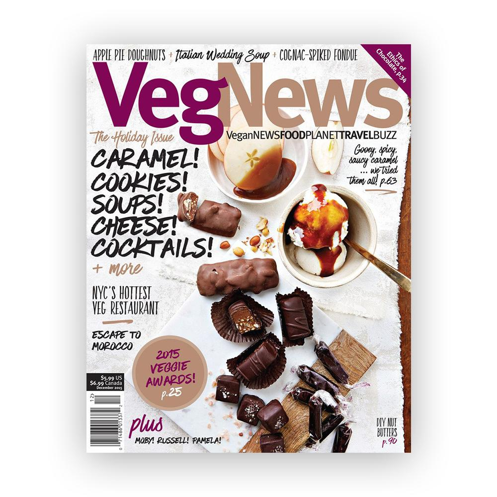 VegNews Magazine-Magazine-VegNews Magazine-Unicorn Goods