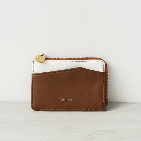 VElove Card Holder in Hazelnut-Womens Wallet-VElove-Unicorn Goods