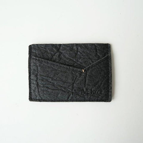 VElove Keir Card Holder in Black Piñatex-Mens Wallet-VElove-Unicorn Goods
