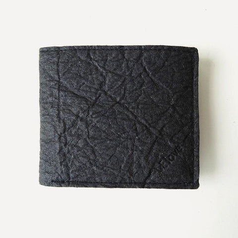 VElove Keir Wallet in Black Piñatex-Mens Wallet-VElove-Unicorn Goods