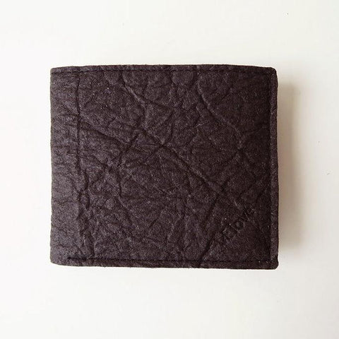 VElove Keir Wallet in Brown Piñatex-Mens Wallet-VElove-Unicorn Goods