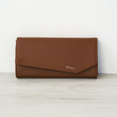 VElove Wallet in Hazelnut-Womens Wallet-VElove-Unicorn Goods