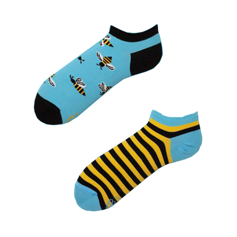 Vogas Summer Bee Socks-Unisex Socks-Vogas-Unicorn Goods