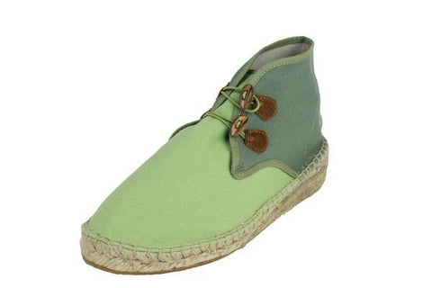 Vogas Women's Chartreuse High Aspas Chukkas-Womens Sneakers-Vogas-Unicorn Goods