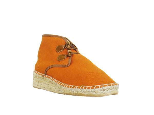 Vogas Women's Vibrant Orange High Aspas Chukkas-Womens Sneakers-Vogas-Unicorn Goods