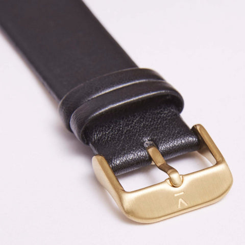 Votch Watch Black and Gold Strap-Unisex Watch-Votch-Unicorn Goods