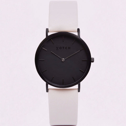 Votch Watch in Light Grey & Black-Unisex Watch-Votch-Unicorn Goods