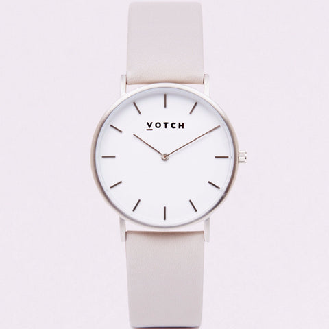 Votch Watch in Light Grey-Unisex Watch-Votch-Unicorn Goods