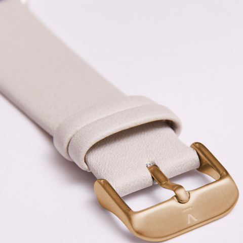 Votch Watch Light Grey and Gold Strap-Unisex Watch-Votch-Unicorn Goods