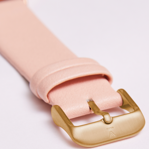 Votch Watch Pink and Gold Strap-Unisex Watch-Votch-Unicorn Goods