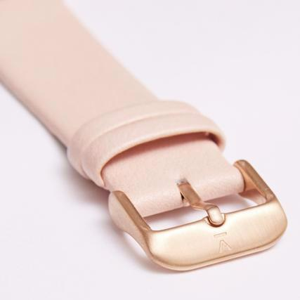 Votch Watch Pink and Rose Gold Strap-Unisex Watch-Votch-Unicorn Goods