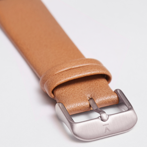 Votch Watch Tan and Silver Strap-Unisex Watch-Votch-Unicorn Goods