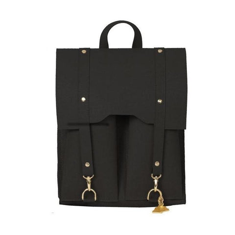 Wilby Cork Backpack in Black-Womens Backpack-Wilby-Unicorn Goods