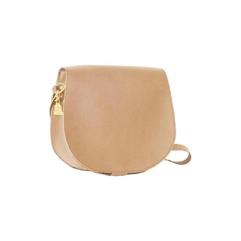 Wilby Cork Saddlebag in Beige-Womens Crossbody-Wilby-Unicorn Goods