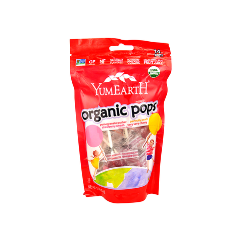 Yummy Earth Organic Pops (14 pops)-Candy-Food-Unicorn Goods