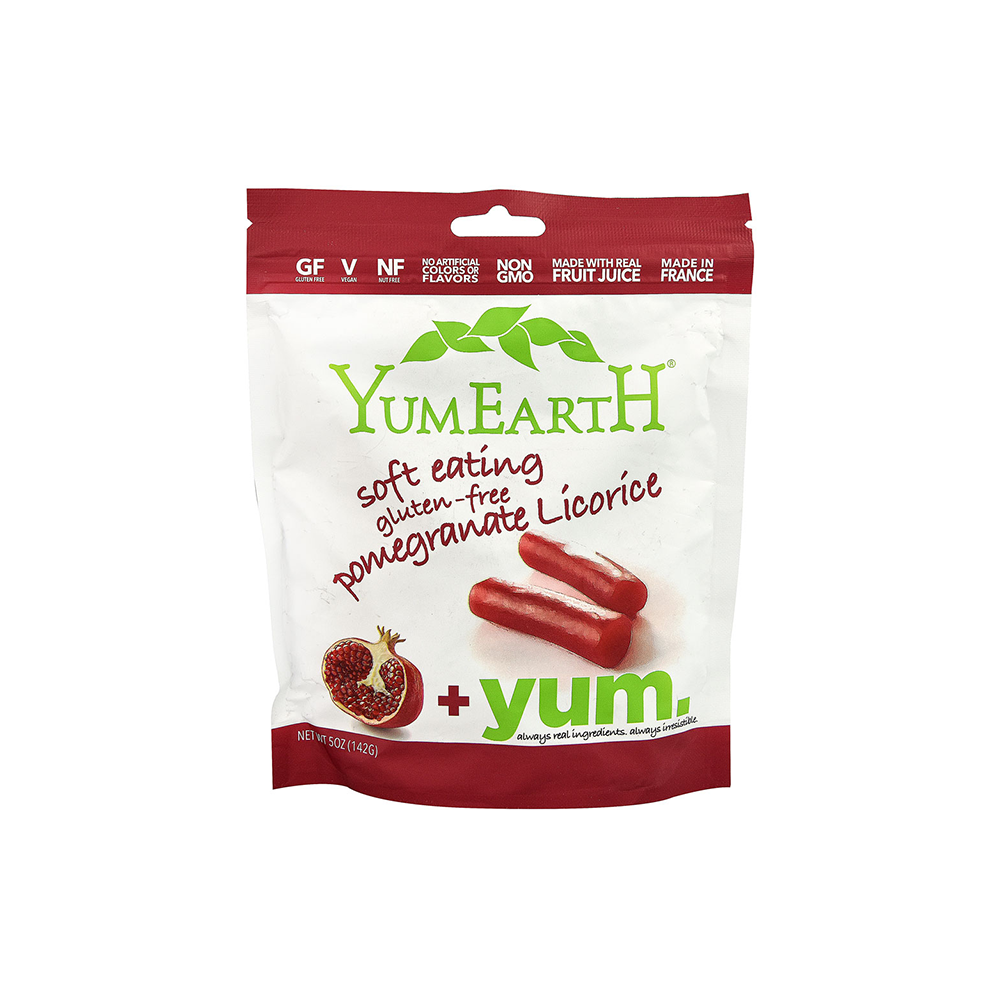 Yummy Earth YumEarth Gluten Free Soft Eating Licorice - Pomegranate-Candy-Food-Unicorn Goods