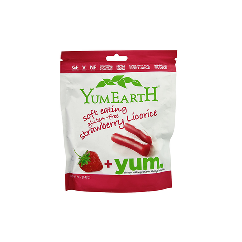 Yummy Earth YumEarth Gluten Free Soft Eating Licorice - Strawberry-Candy-Food-Unicorn Goods