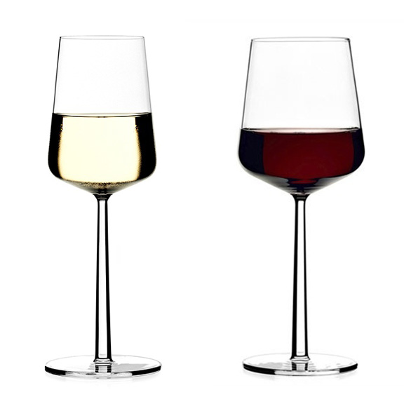Iittala Essence Red or White Wine Glasses, Iittala, Huset | Modern Scandinavian Design
