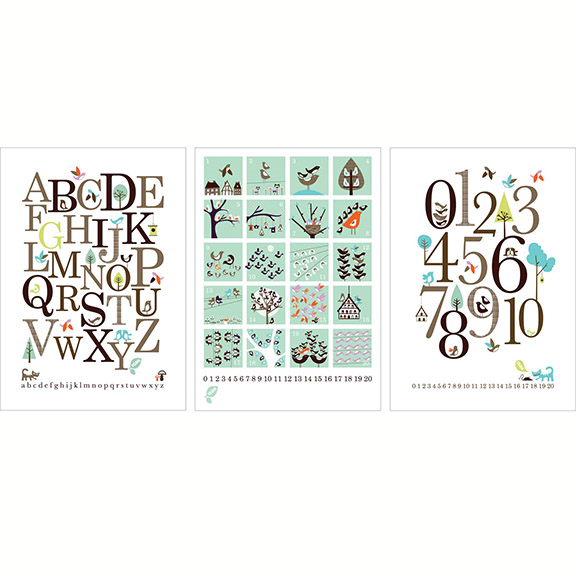 Isak Counting Posters - Huset Shop - 1