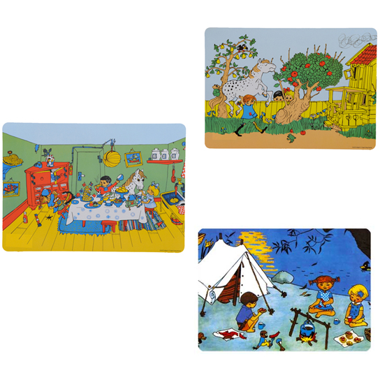 Pippi Longstocking Placemats - Huset Shop - 1