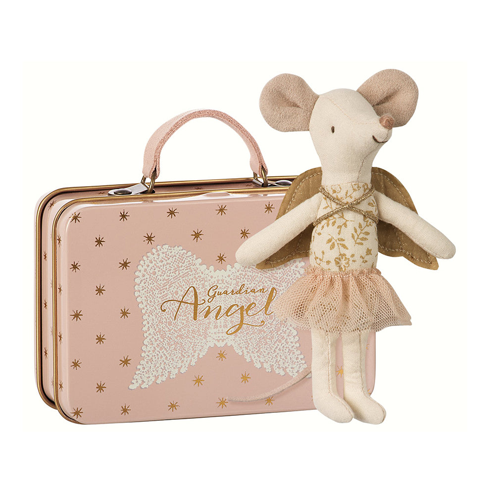 Maileg Guardian Angel Big Sister Mouse in Suitcase, Maileg, Huset | Modern Scandinavian Design