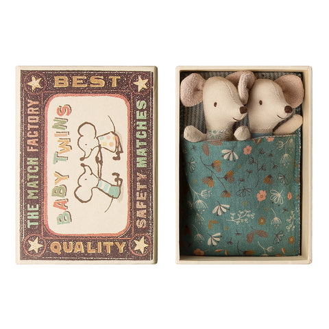 Maileg Twin Baby Mice in Box