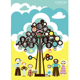 Isak Family Poster Family Tree - Huset Shop - 2