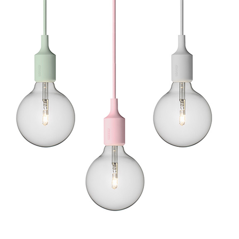 Muuto E27 Pendant Light by Mattias Ståhlbom
