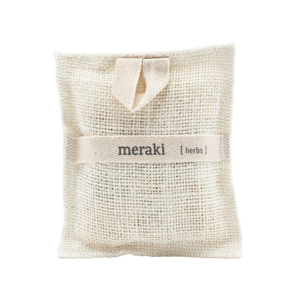 Meraki Bath Mitt with Herbs