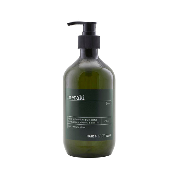 Meraki Men's Hair & Body Wash