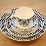 Gustavsberg Adam Coffee Cup and Saucer by Stig Lindberg - Huset Shop - 2