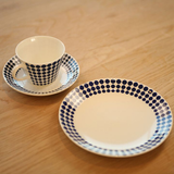 Gustavsberg Adam Coffee Cup and Saucer by Stig Lindberg - Huset Shop - 3