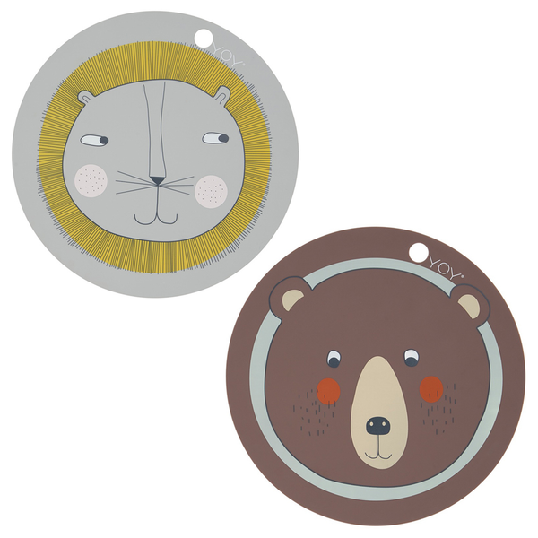 OYOY Round Kids Placemat - Huset Shop - 1