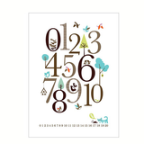 Isak Counting Posters - Huset Shop - 2