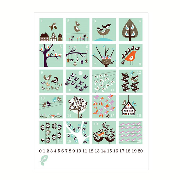 Isak Counting Posters - Huset Shop - 3
