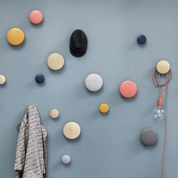 Muuto Coatrack Wall Dots - Huset Shop - 1