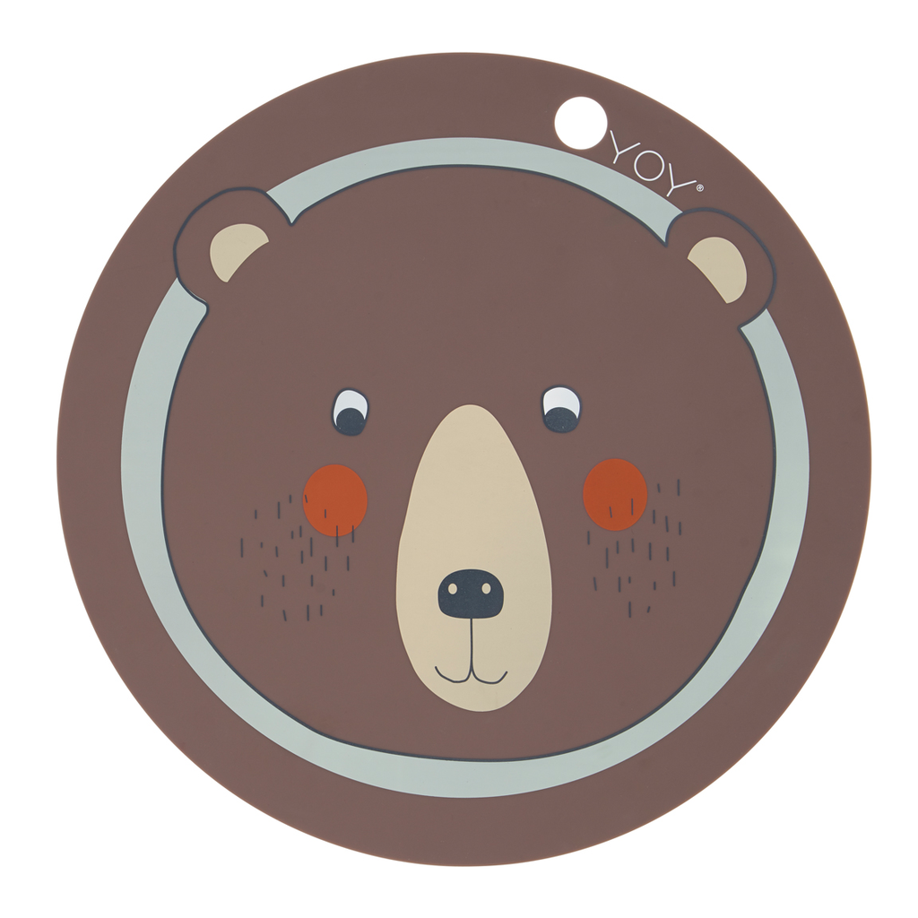 OYOY Round Kids Placemat - Huset Shop - 3