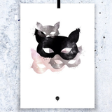 Lovedales Studio Copy Cat Poster - Huset Shop - 3
