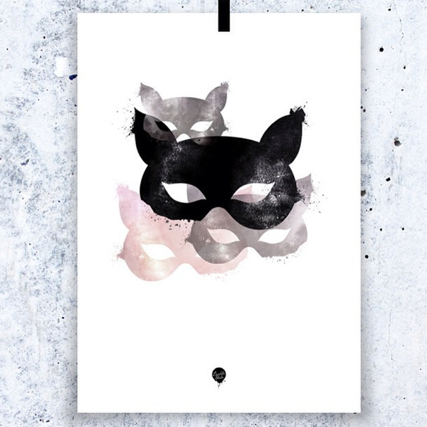 Lovedales Studio Copy Cat Poster, Lovedales, Huset | Modern Scandinavian Design