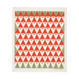 Swedish Holiday Dish Cloth, Huset, Huset | Modern Scandinavian Design