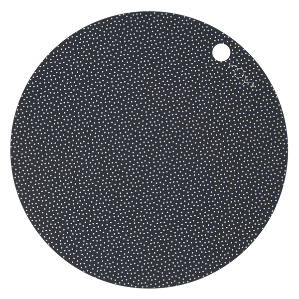 OYOY Round Dots Silicone Placemat Set - Huset Shop - 1